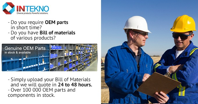 Electricals, Chemicals and Machinery components - OEM parts supply.